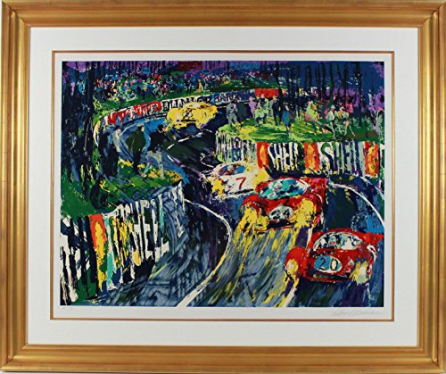 24 Hours at LeMans by LeRoy Neiman