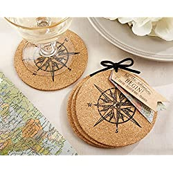 Let The Journey Begin Cork Coasters (pack of 24 sets)