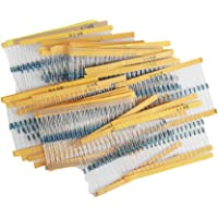 Jolicobo Genérico 820PCS 1 / 4W Resistor 41