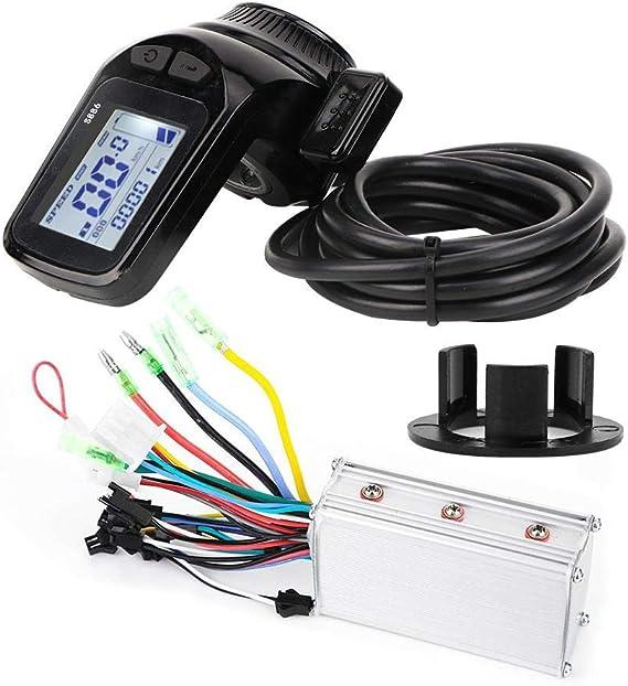 Controlador eléctrico sin escobillas Pantalla 24V 350W Controlador ...