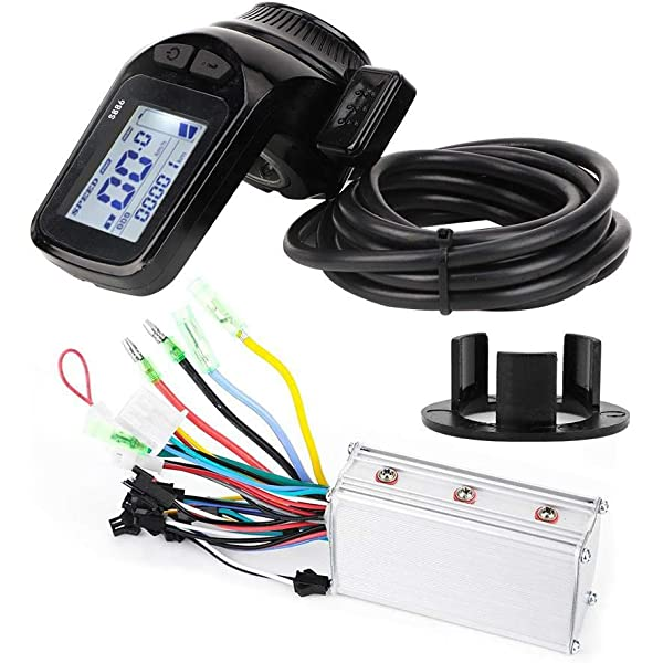 36V//48V 350W Brushless Motor Controller LCD Screen Monitor For Electric Bicycle