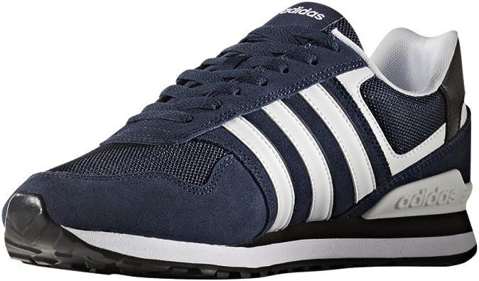 Adidas 10k, Zapatillas para Hombre, Azul (Maruni/ftwbla/Negbas), 40 EU: Amazon.es: Zapatos y complementos