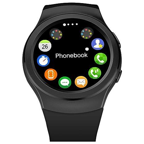 G3 Smartwatch reloj Bluetooth Smart Watch para iPhone 6 / 6 Plus / 5S Samsung S6 Nota 4 HTC Android telšŠfono Smartphones Android desgaste: Amazon.es: ...