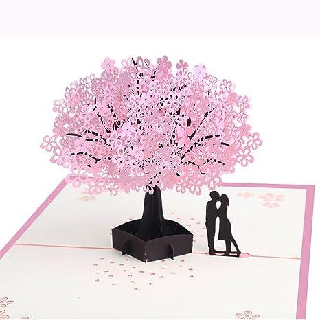 Amazon.com: Día de la madre tarjeta de PopUp Tarjeta de ...