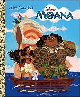 Moana Little Golden Book Disney Laura Hitchcock Griselda Sastrawinata Lemay 9780736436038 Amazon Books