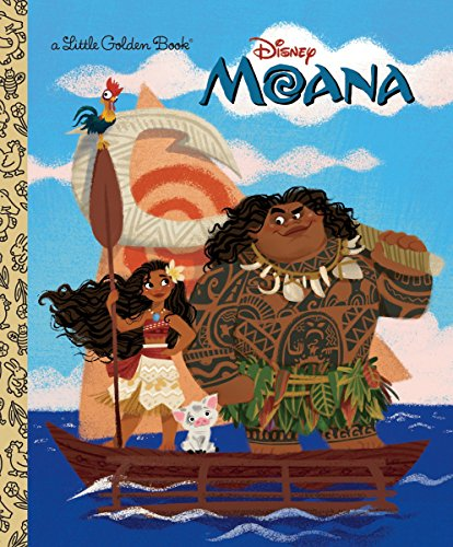 Moana Little Golden Book (Disney Moana) (Best Time To Travel To Disney World)