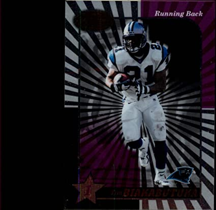 9eed29340 2000 Leaf Certified  21 Tim Biakabutuka at Amazon s Sports Collectibles  Store