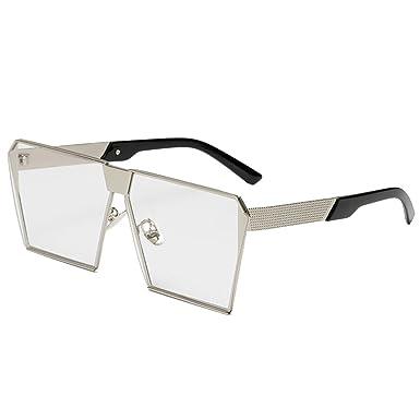 b73bba2ce152 COOCOl Fashion Sunglasses Metal Frame Square Luxury Brand Designer Women  Mirror Sun glasses Men UV400 Big
