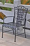 International Caravan Iron Lattice Patio Chair – Set of 2 Review