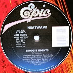 Boogie Nights/The Groove Line