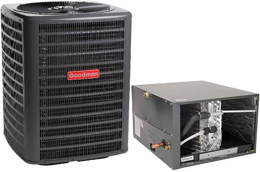 Goodman 5 Ton 14 SEER Heat Pump GSZ140601, Coil CHPF4860D6, Horizontal Coil CHPF4860D6