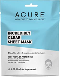 product image for Acure Incredibly Clear Sheet Mask (Pack of 24)