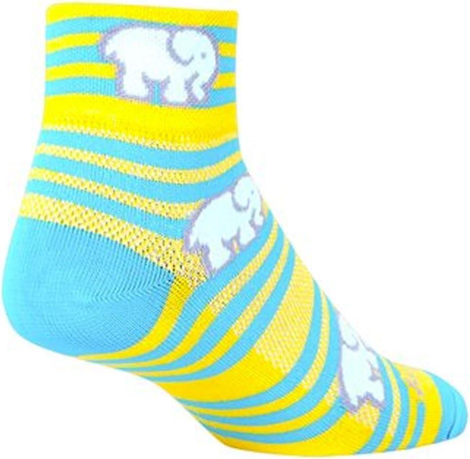 SockGuy Womens 2in Ellie Cycling//Running Socks