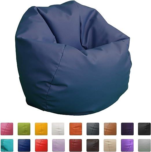 Hand Fotos Puff Pelota 60cm diámetro (Azul): Amazon.es: Hogar