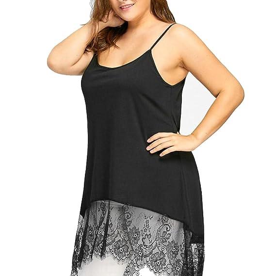 blusas de mujer elegantes de fiesta, sin mangas, Mujeres atractivas más tamaño alto Low