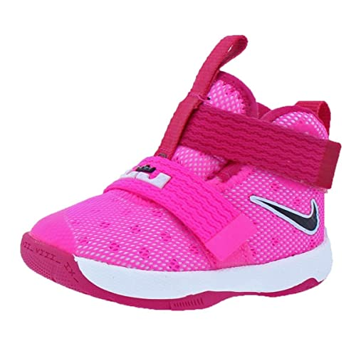 771c815a959e ... promo code for nike lebron soldier 10 bebé niñas rosado vivid pink  black 4ef5e 3f402