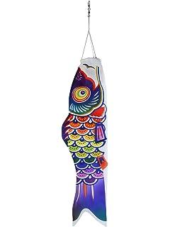 d6bbf40f6fa0b8 In the Breeze 5048 Spectrum Koi Fishsock - Colorful Rainbow Koi Fish  Windsock - 24-