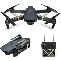 E58 RC Drone RTF WIFI FPV 2MP Wide Angle Camera High Hold Mode Foldable Quadcopter Kids Christmas Birthday Toy Gifts