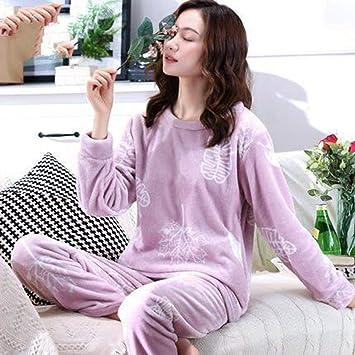 pour toute la famille nouveau authentique une performance supérieure SALICEHB Pyjamas Chaud À Manches Longues Femmes Pyjama ...