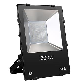 LE Lighting EVER 200W Projecteur Extérieur LED 20000lm, 5000K avec 210 LEDs  IP65 Etanche, 1f946e871ad2