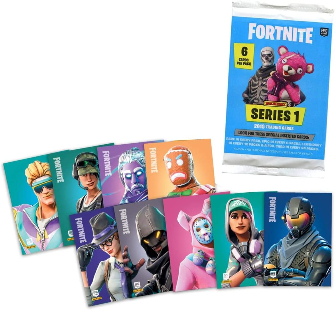 Panini Fortnite  Serie 1 Trading Cards 3 x Display 72 Booster