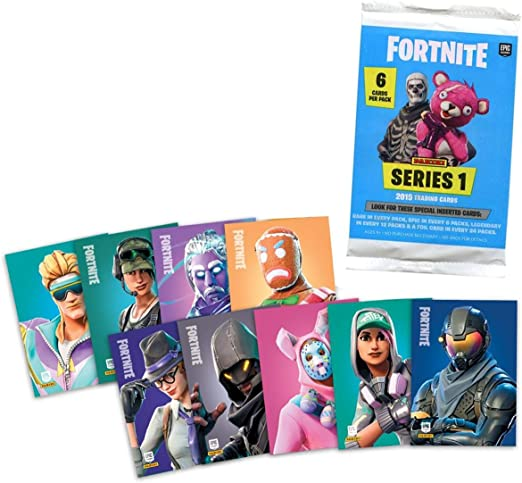 Fortnite Trading Cards Series 1 Foil Pack - 6 Cards: Amazon.es ...