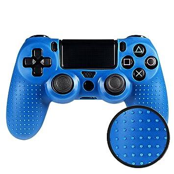 eXtremeRate Funda Carcasa Cubierta Protectora Compatible con el Mando del Playstation 4 de Sony PS4 Original Slim Pro