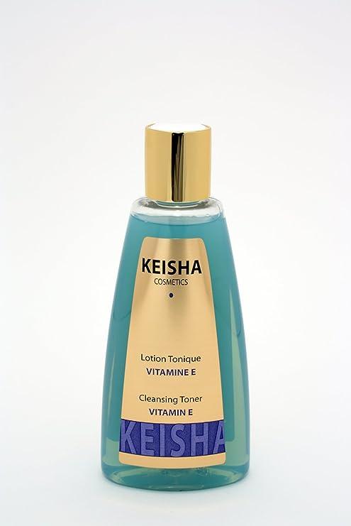 Keisha cosméticos Loción Tonique acné diario lavado facial normal a grasa tipo de piel con vitamina