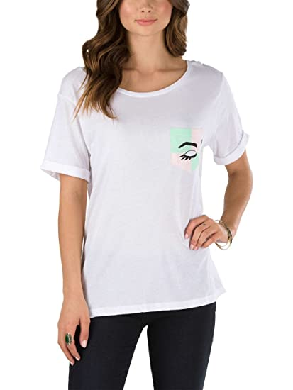 043919855d T-Shirt Women Vans Mod Eye Pocket T-Shirt  Amazon.co.uk  Clothing