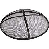 Alpine Flame 25-inch Mesh Fire Pit Spark Screen - Round