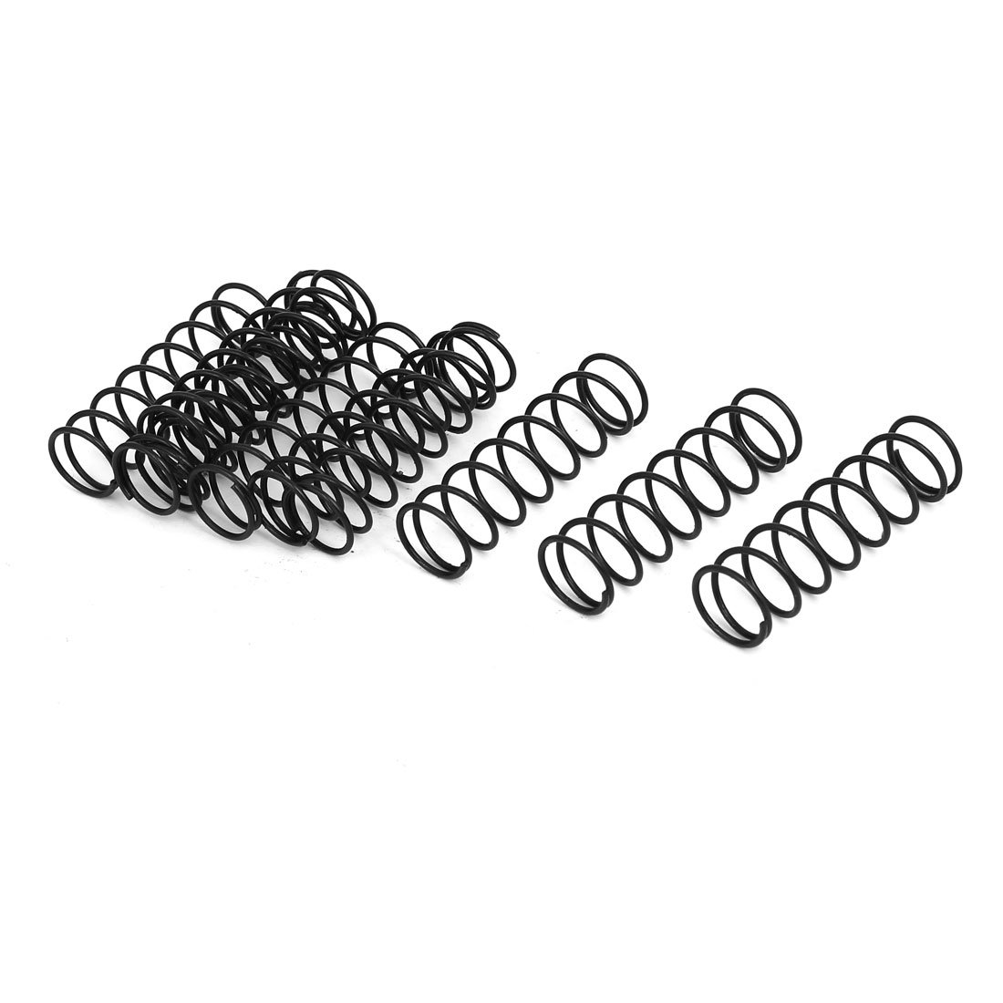 sourcingmap 15mm Outer Diameter 1.2mm Wire Dia 50mm Long Compression Spring 10Pcs a17020800ux1378