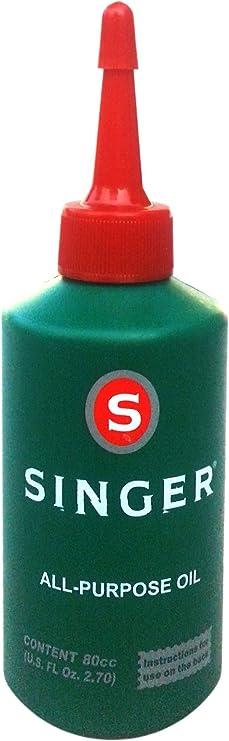Aceite para máquina de coser Singer: Amazon.es: Juguetes y juegos