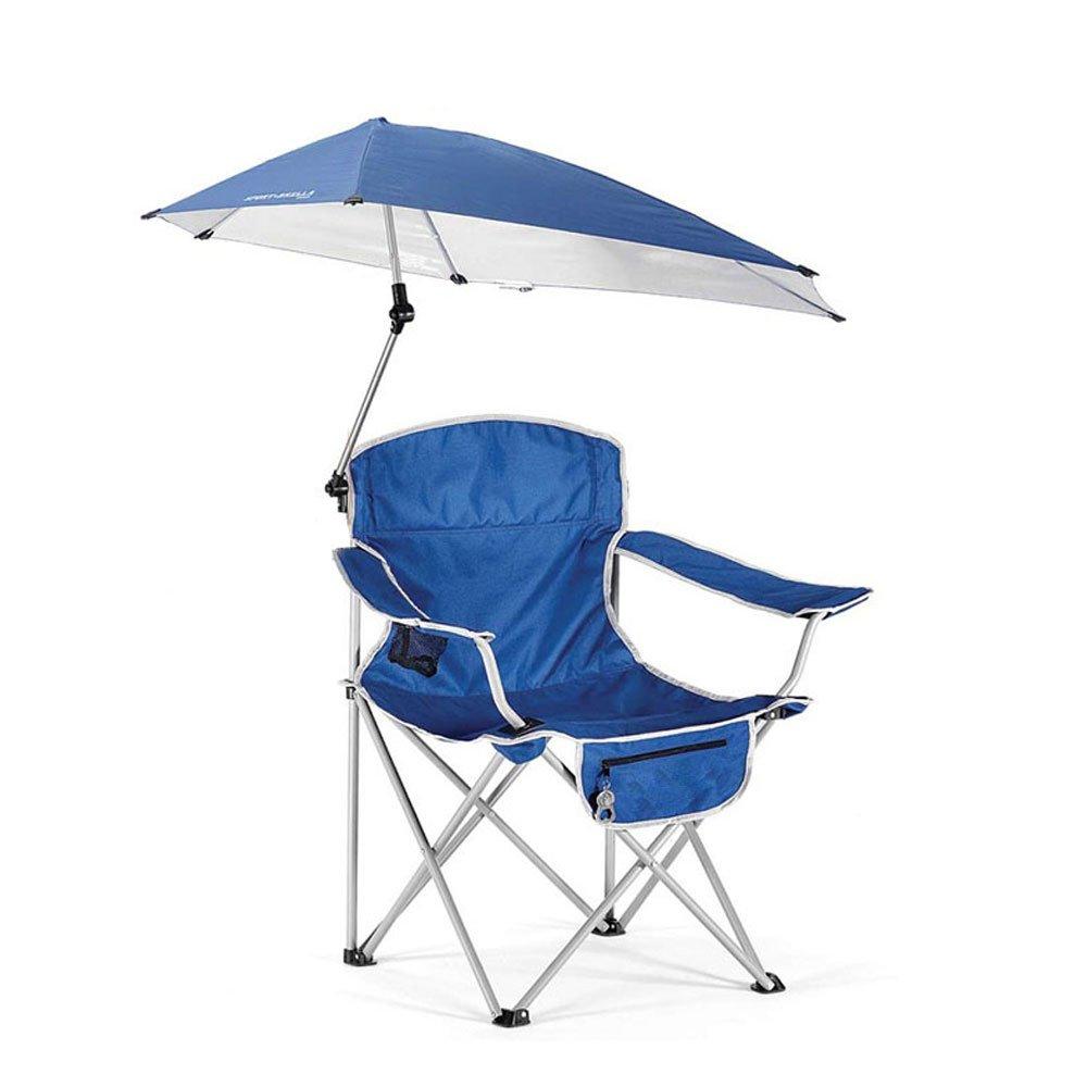 KTYXDE 屋外チェアレジャー折りたたみ傘ポータブル釣りビーチチェアキャンプチェアチェアチェアチェアチェアパラソルチェア 折りたたみ椅子   B07P84RBRT