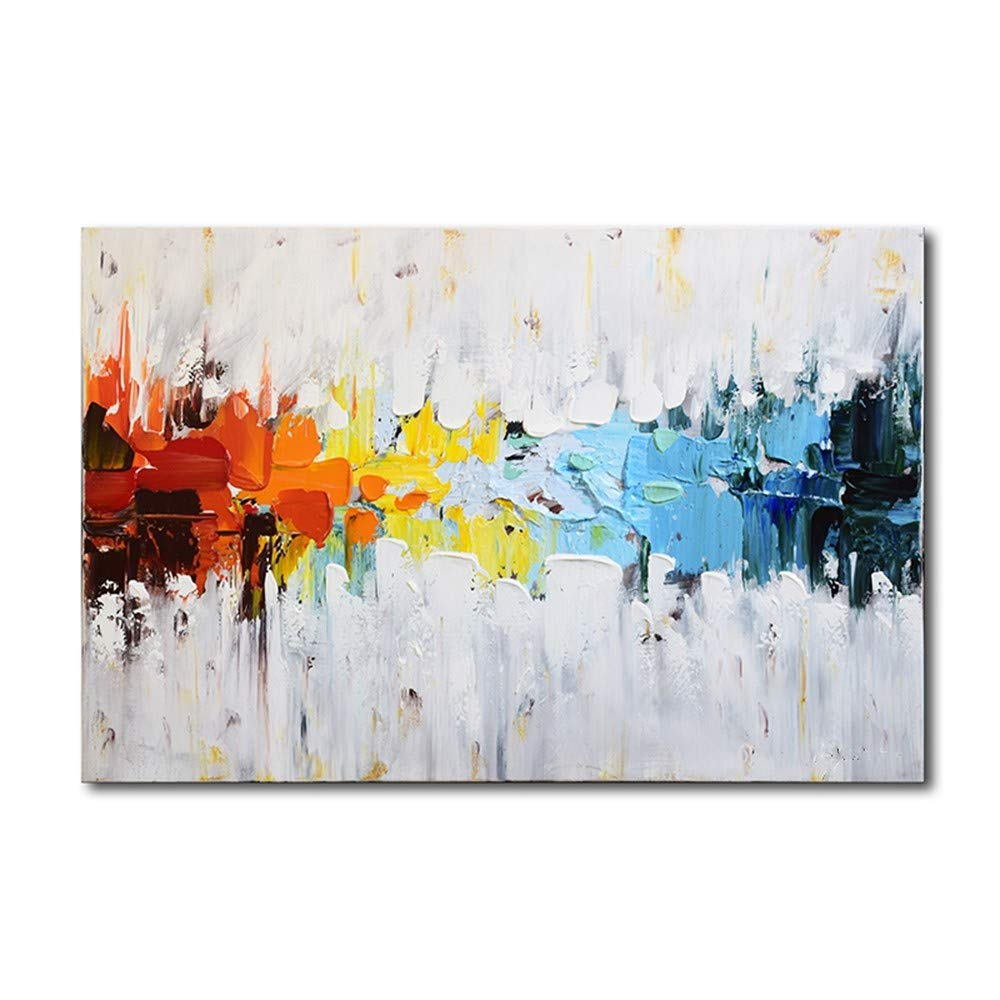 OME&MEI OME&MEI OME&MEI Handgemaltes Abstraktes Home Hotel Wandkunst Leinwand Ölgemälde Kein Frame-70X110Cm 098e7e