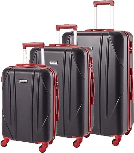 Newtour 3 Pieces Luggage Set Hardshell Suitcase