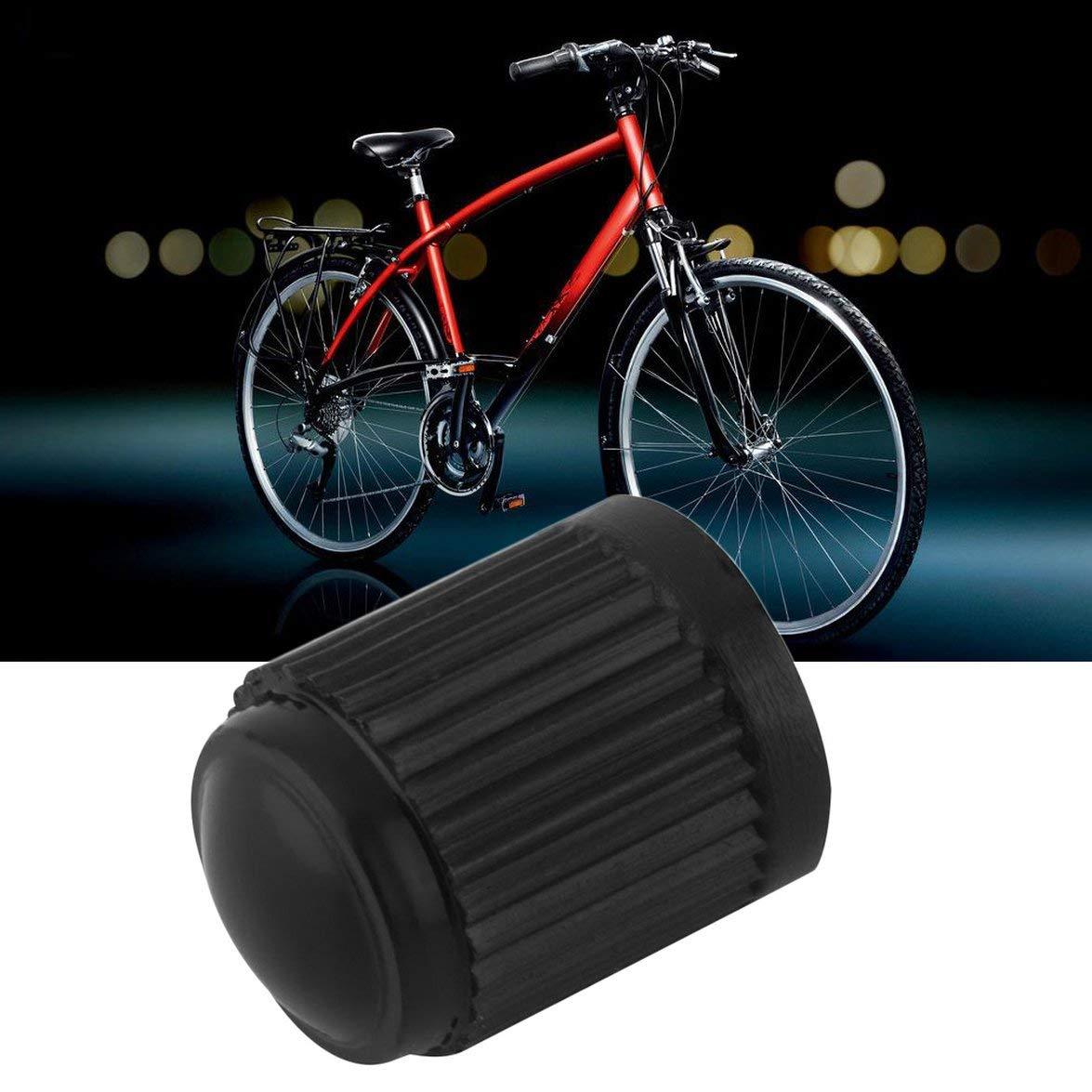 Kongqiabona universale resistente leggero leggero design compatto in plastica nera tappi per pneumatici camion auto moto bicicletta