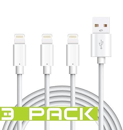 Amazon.com: Lightning iPhone Cable, certificado Tricon 6 ...