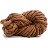 Fancyku Yarn Ball Thread Super Chunky Roving Big Yarn for Hand Knitting Crochet, 250g, 8.8 Ounze