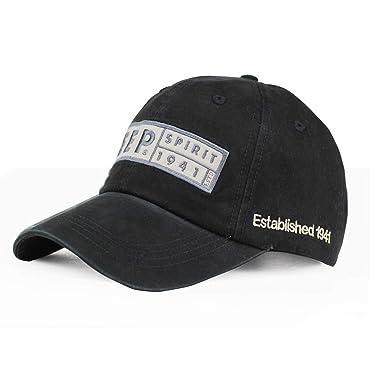 Feisette Retro Cotton Baseball Caps for Men Women Snapback Hip Hop Cap Army Dad Hats Unisex