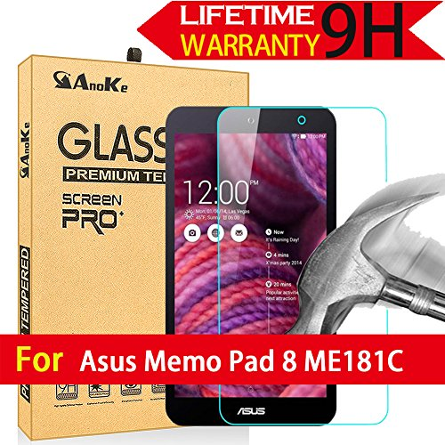 Tempered Glass Screen Protector For Asus MEMO Pad 8 Me181C Tablet