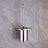 Stainless Steel Toilet Brush Sets Shelf Toilet Toilet Brush Toilet Toilet Brush with Toilet Brush Cup