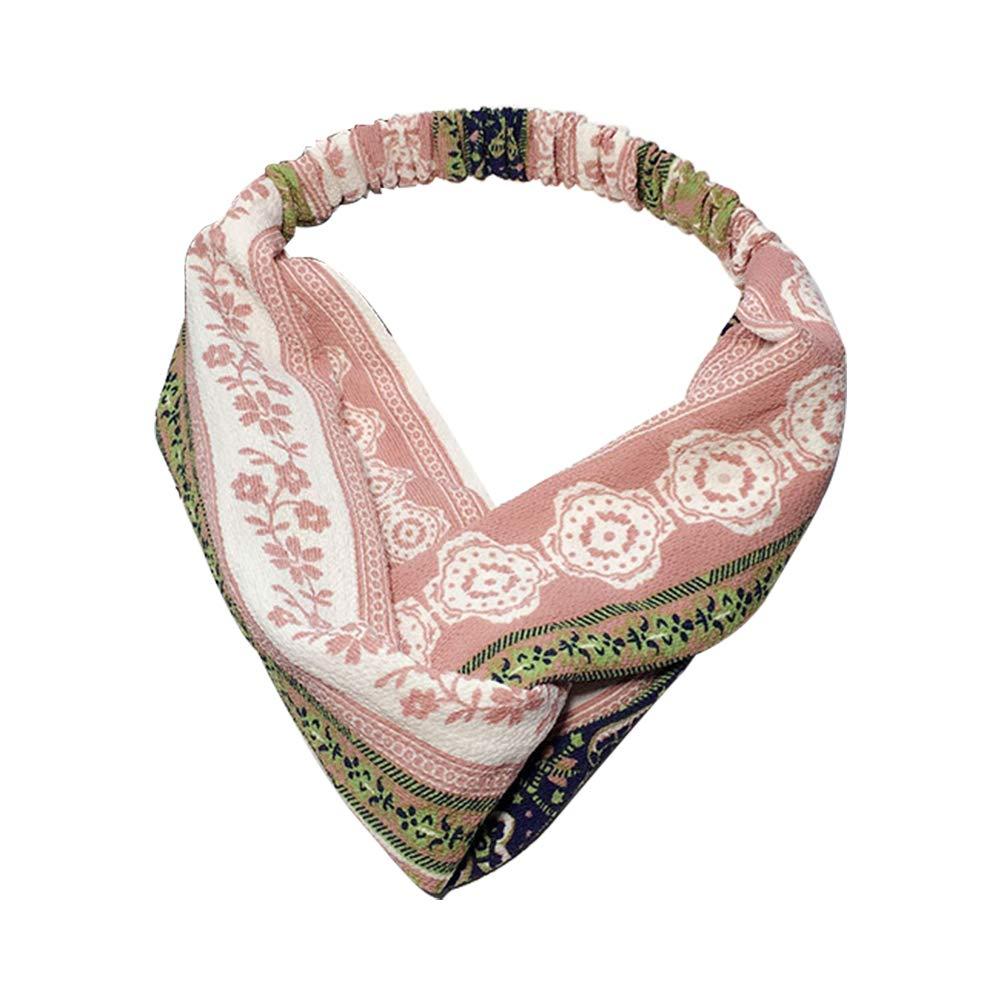 Namgiy, fascia da testa accessori per capelli Headwear sudore ampia fascia elastica Head band yoga sport outdoor vacanza donne #1 27 cm