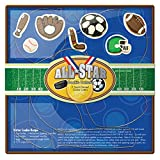 Fox Run All Star Sports Cookie Cutter Set