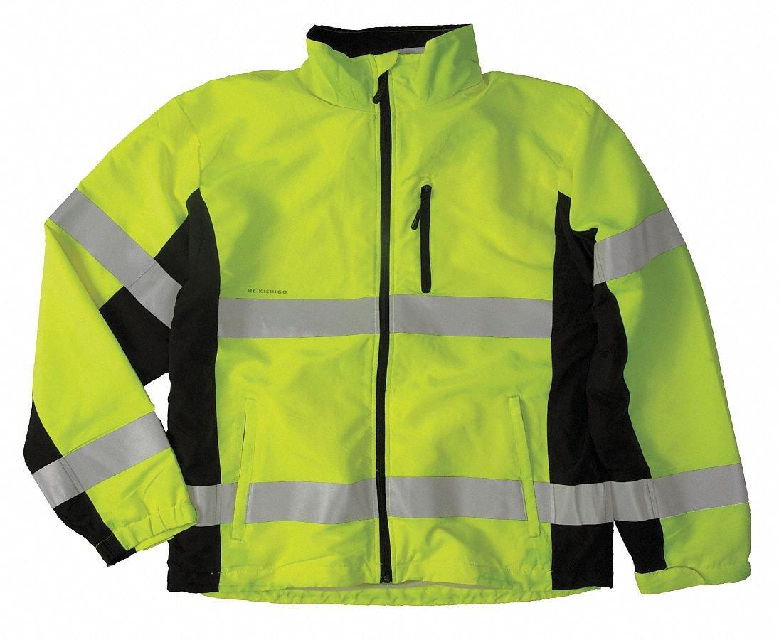 Windbreaker Class 3 Jacket Lime 2XL
