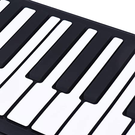 Amazon.com: ammoon Portable Silicon 88 Keys Hand Roll Up Piano Electronic USB Keyboard Built-in Li-ion Battery and Loud Speaker with One Pedal: Musical ...
