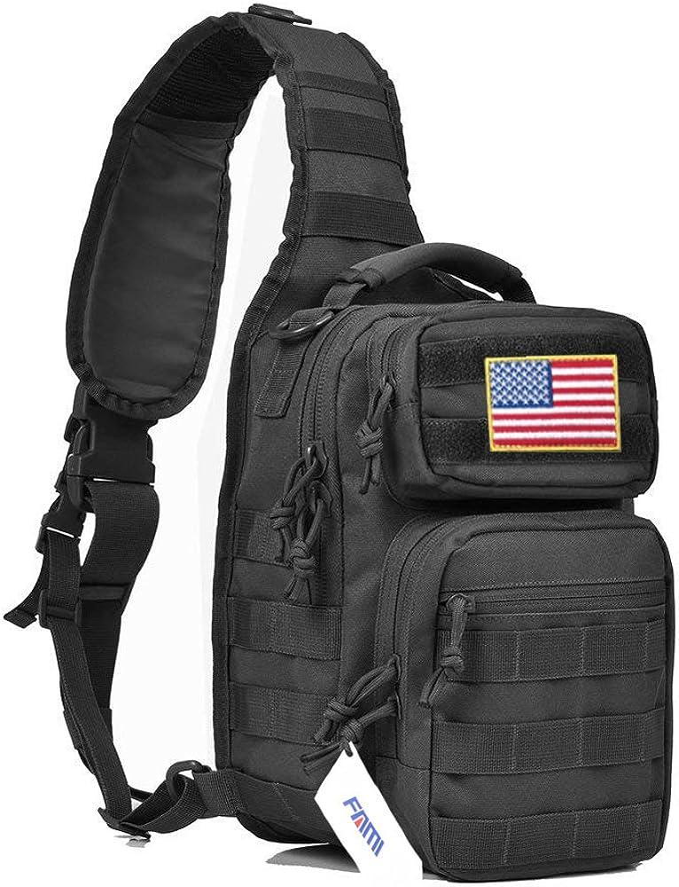 FAMI Outdoor Tactical Backpack,Military Sport Bag Pack Shoulder Backpack