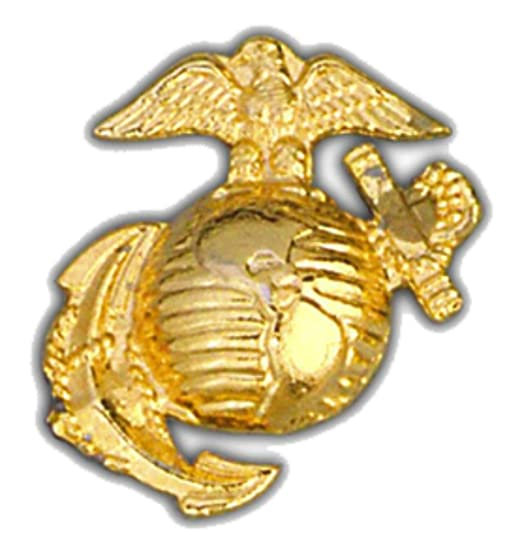 US Marine Corps Eagle Globe and Anchor Gold 1 1/4