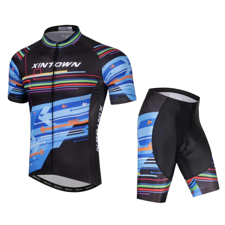 XBCC Conjunto de Ropa de Ciclismo para Hombre, Camisa de ...