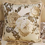 European-style cushions High-end luxury pillow sofa pillows bedside back cushion-A 65x65cm(26x26inch)VersionB