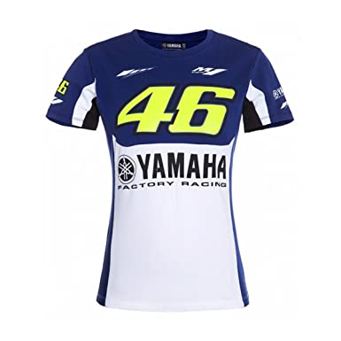 Amazon.com  Yamaha Valentino Rossi T-Shirt - Women (X-Small)  Clothing 6d1a822dc5681
